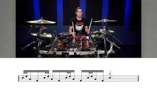 vuclip Free Drum Lesson! - Super Cool - Herta Drum Fill -  from Drumeo & COOP3RDRUMM3R