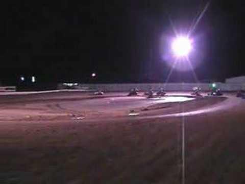 Outlaw karting Texoma motor speedway 2008/ NWOK