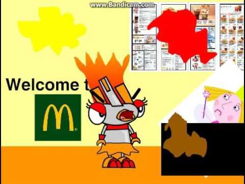 Cali goes to McDonald's