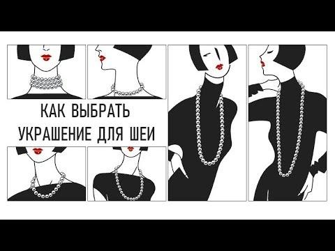 Виды украшений для шеи: как выбрать и с чем носить?