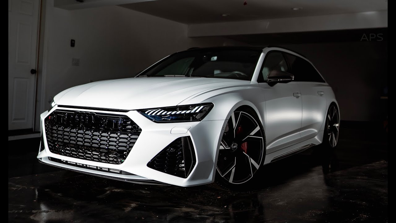 2021 Audi RS6 DME Stage 2 & Catless Downpipes (Insane ...