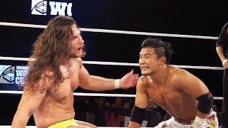 Joseph Conners vs. KUSHIDA - Semi Final Match (Pro Wrestling World Cup Finals)