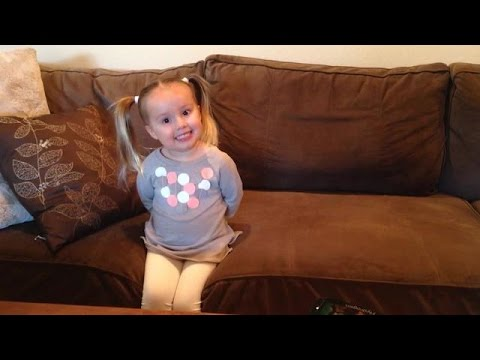 3 year old Brielle recites the Periodic Table of Elements!