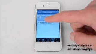 Iphone Ortung App - Installationsanleitung Deutsch