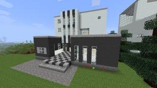 【MineCraft】一級建築士を目指して!! 第8話 ~モダンハウス/Modern House~ 【実況】 thumbnail