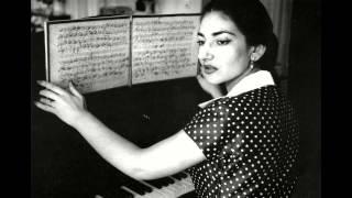 O dolci mani - Tosca, Maria Callas