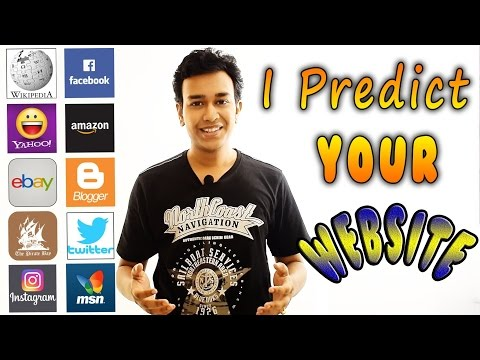 Indian Magician predicts YOUR Favorite Website | Interactive Trick