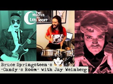 """Jay Weinberg + High on Fire + Mutoid Man + Royal Thunder cover Bruce Springsteen's """"Candy's Room"""""""