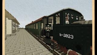 мод на майнкрафт 1.7.10: Поезда войны