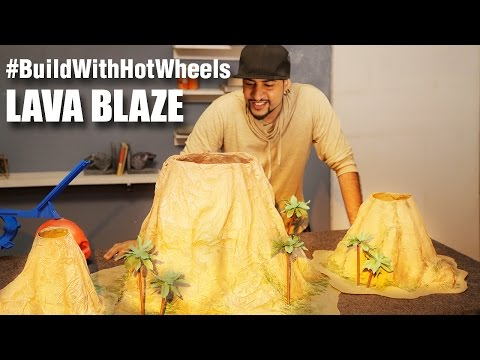 #BuildWithHotWheels - Lava Blaze   Hot Wheels