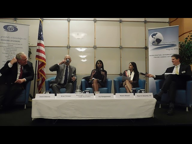 4/18/18 Trade Counsels and the Role of Congress in Formulating U.S. Trade Policy Part 3