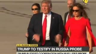 US Russia probe: Trump to testify under oath