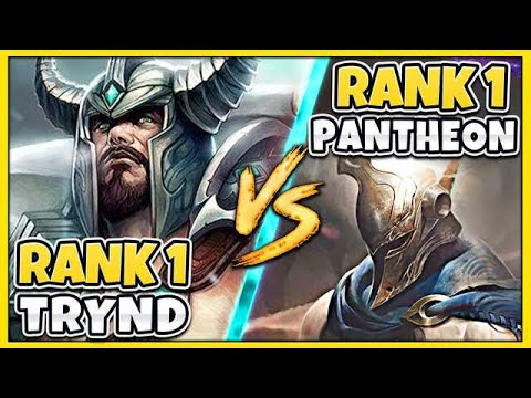 THIS TRYND STRATEGY COUNTERS THE #1 PANTHEON WORLD (ALWAYS WIN) FT  LL  STYLISH - League of Legends