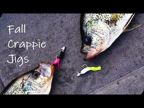 Tie Two Jigs on ONE Line for Fall Crappie  (Fall Crappie Fishing)  ep. 15 of 30 day challenge