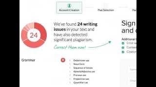 How to use Grammarly.com