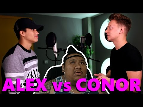 [MUSIC REACTION] Conor Maynard Ft.  Alex Aiono - 24K Magic SING OFF