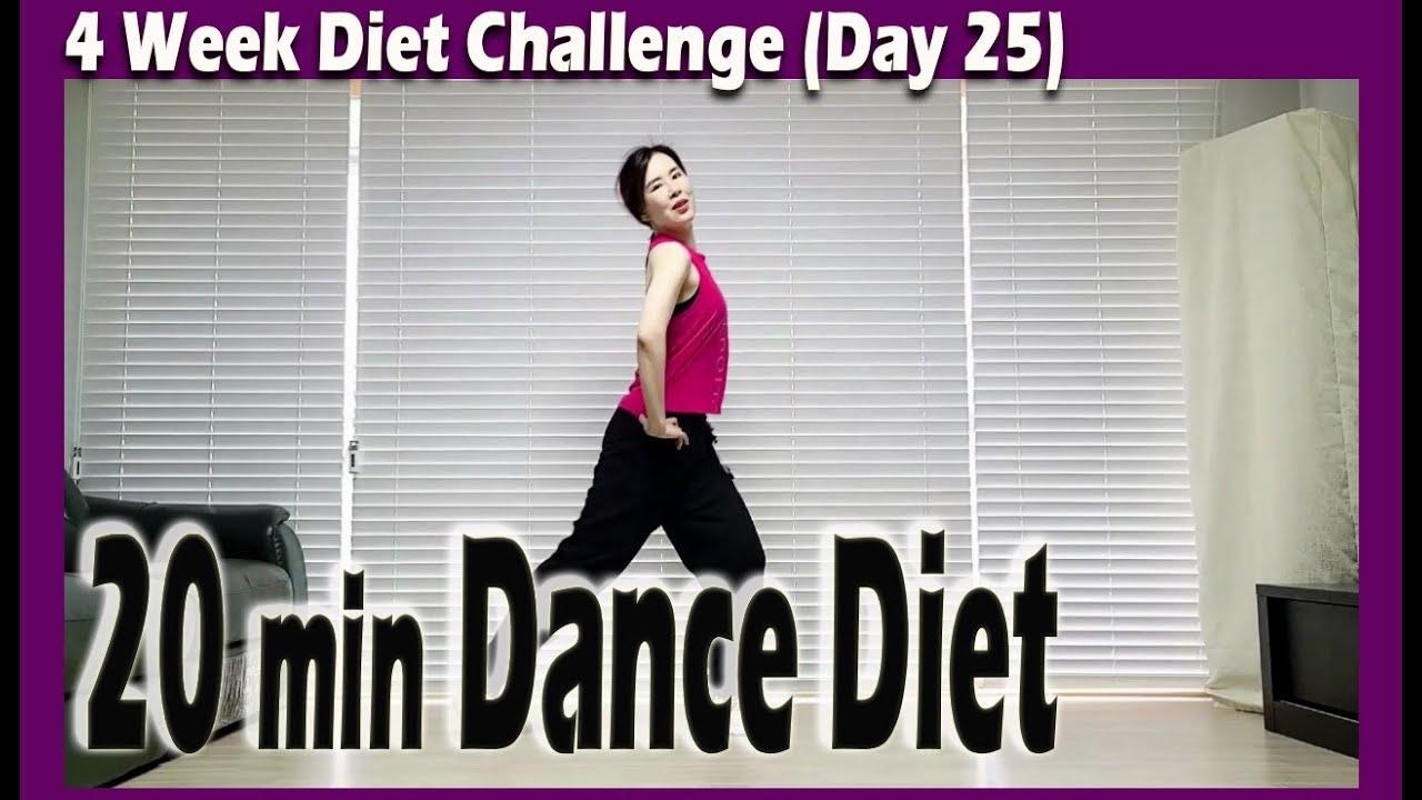 [4 Week Diet Challenge] Day 25 | 20 minute Dance Diet Workout | 20분 댄스다이어트 | Choreo by Sunny | 홈트|