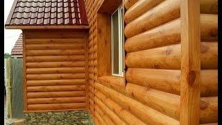 видео Как крепить блок хаус: монтаж и обшивка дома своими руками