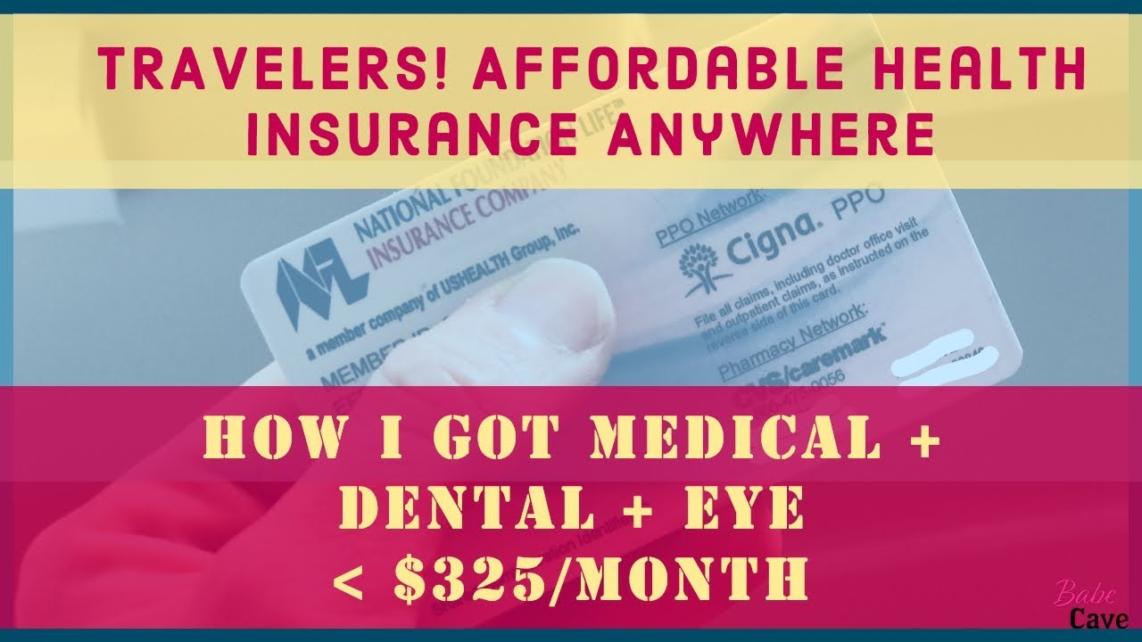 Affordable Health Insurance >> Affordable Health Insurance For Travelers Self Employed