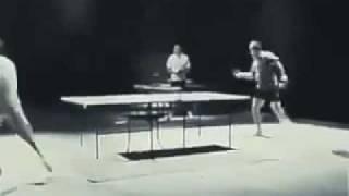 李小龍雙節棍打乒乓球 不可不看 !!!