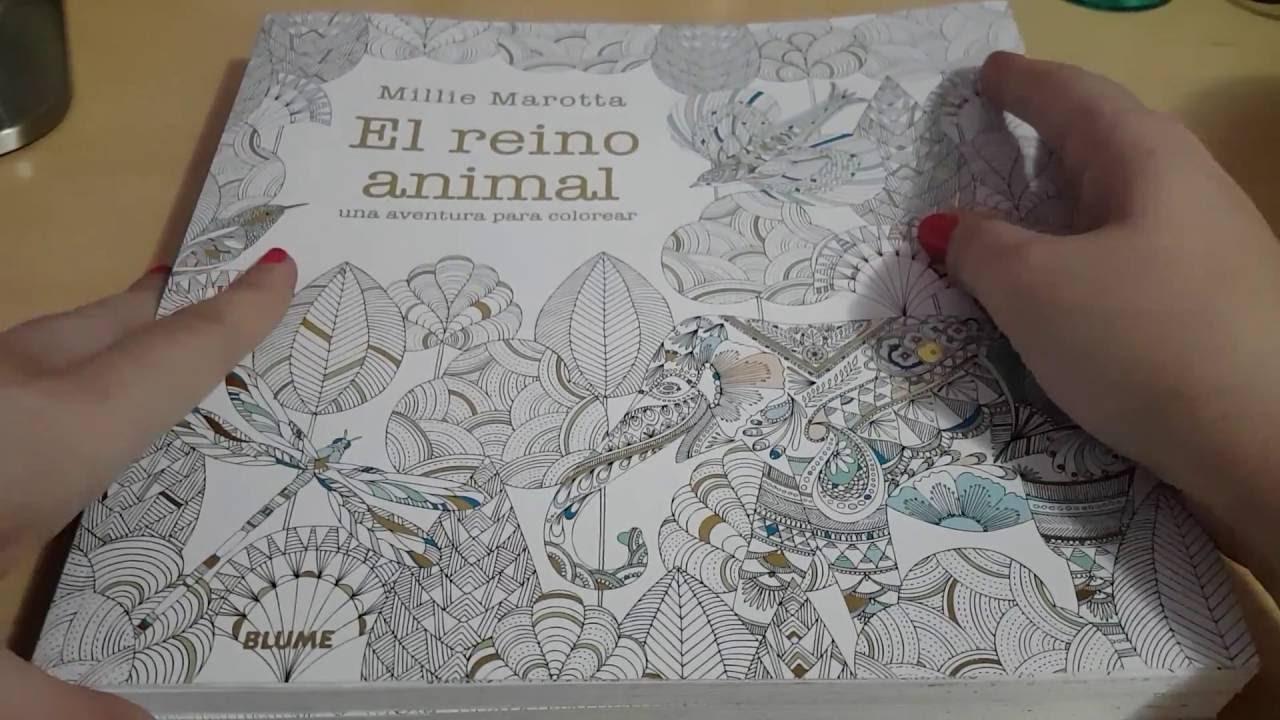 Libros de colorear para adultos, Millie Marotta / Adult coloring ...