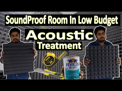 How To Soundproof Room In Cheap And Low Budget   Acoustic Panels Treatment    We Digital