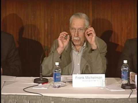 Justice for Hedgehogs: Professor Frank Michelman