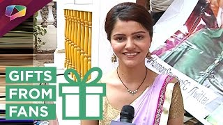 Rubina Dilaik Receives Gifts From Her Fans | Exclusive | India Forums