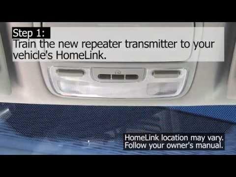 Homelink Compatibility Bridge Training Youtube