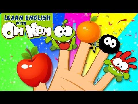 THE OM NOM - SUPER NOMS BEST FINGER FAMILY SONG for Kids | Nursery Rhymes for Kid Children by Om Nom
