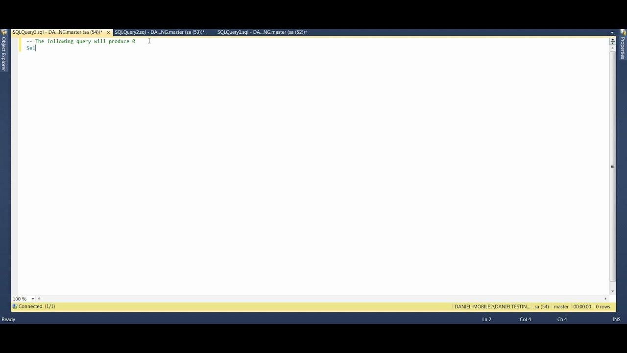 MS SQL 2012 - How to Convert Integer to Decimal avi