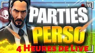 GO ENVIRON 4 HEURES DE LIVE FORTNITE PARTIE PERSONNALISÉE FR PARTIE PERSO GAME ABOS EN LIVE
