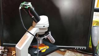 DIY $40 digital microscope pro…