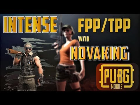 PUBG MOBILE LIVE INTENSE TPP GAMEPLAYS WITH ICONIC AND EXPI