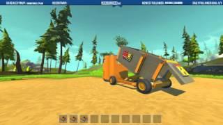 Dump Truck build in Scrap Mechanic