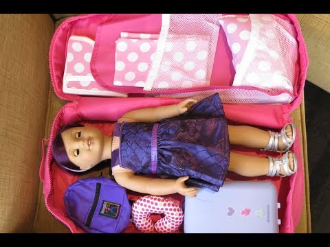 How To Travel With Your American Girl Doll ~ Overnight Stay