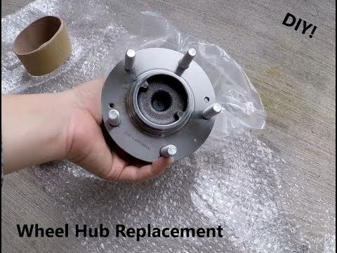Kia Forte Wheel Hub Replacement DIY
