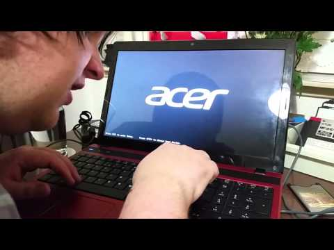 how to set an acer laptop to factory settings