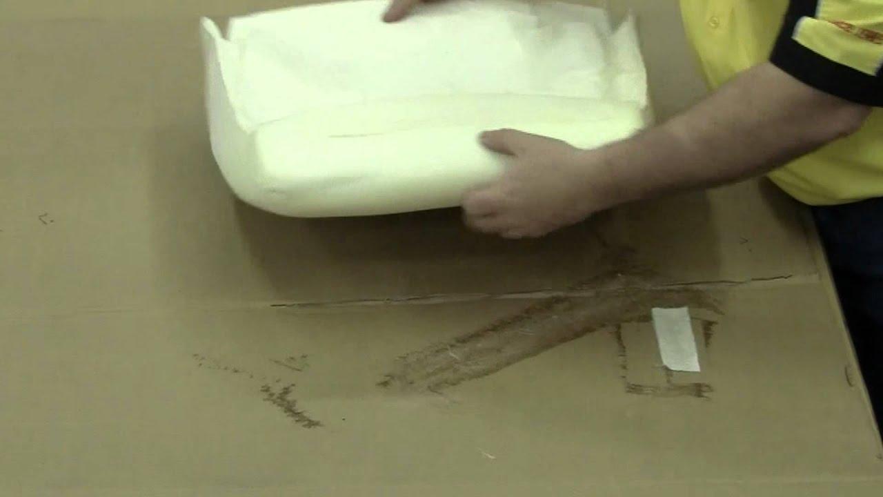1966 1967 A B Body Bucket Seat Foam Preparation Youtube