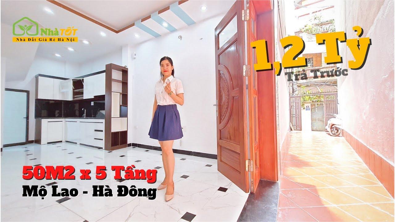 image 50m2 Có Nhà 5 Tầng + Sân Rộng 20m2 | Mộ Lao, Hà Đông, Hà Nội | nhà TỐT