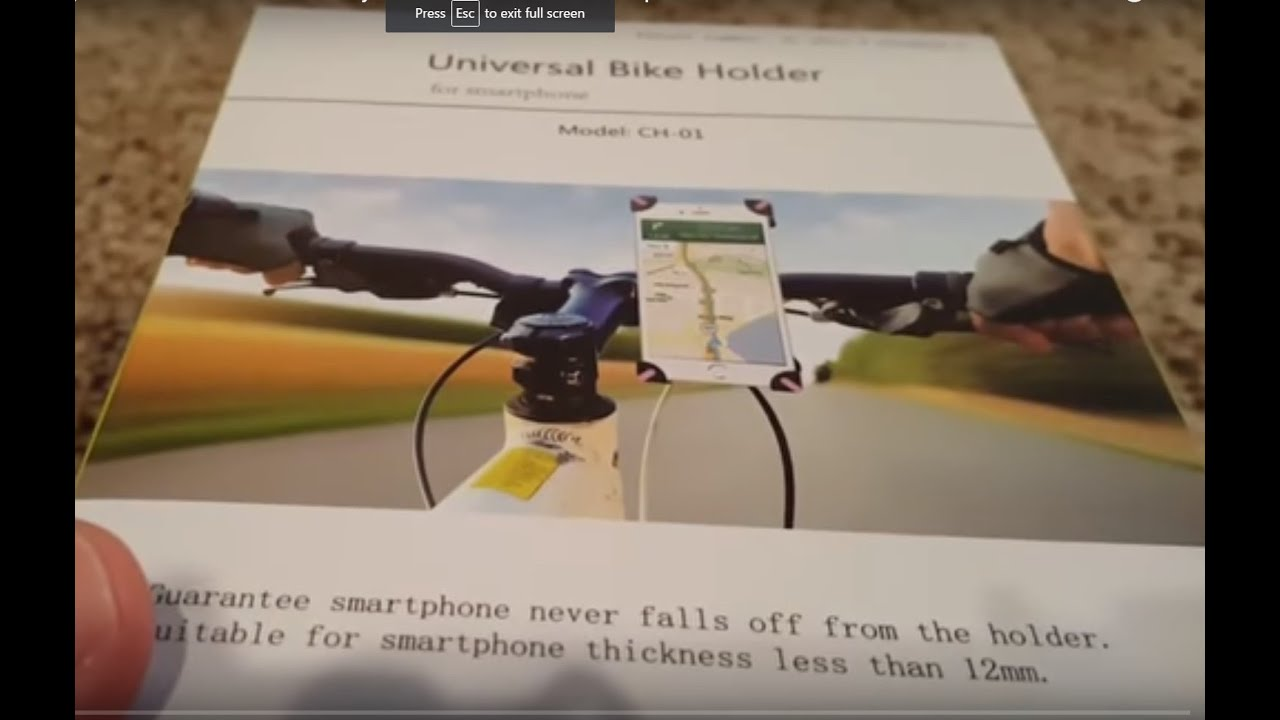 Unboxing And Review Of Tryone Universal Bike Motorcycle Mount