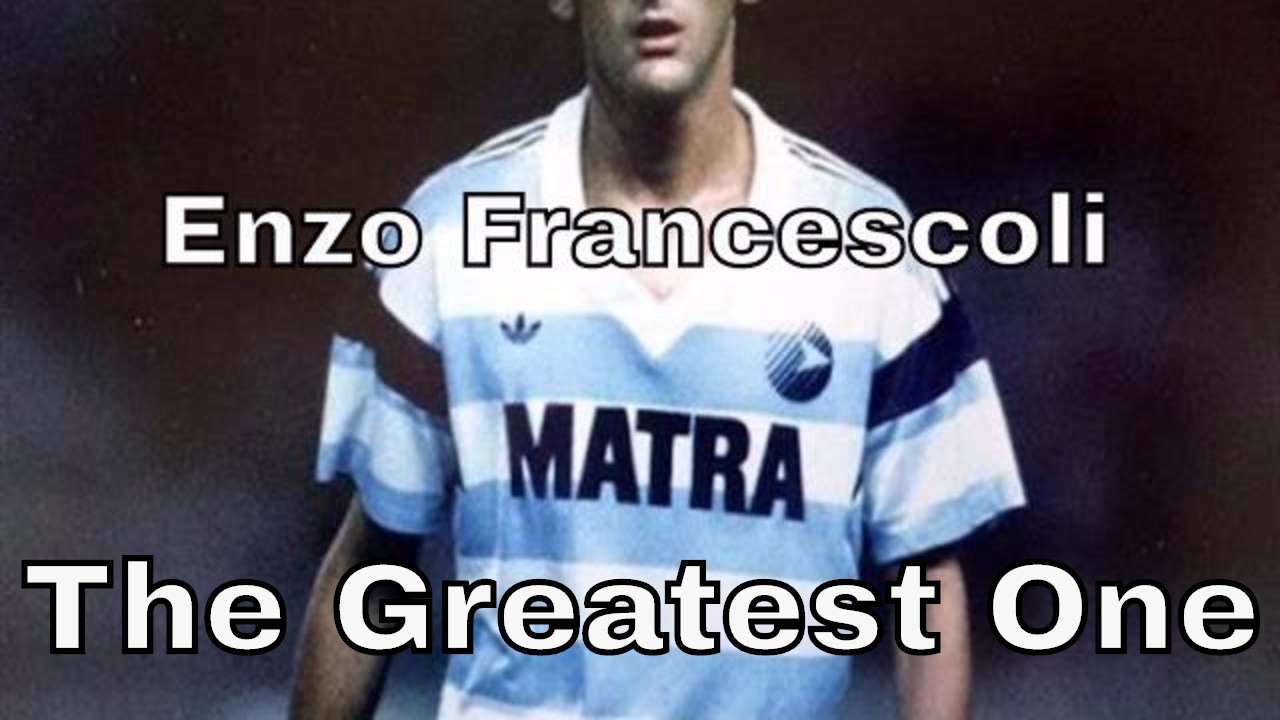 Enzo Francescoli The Greatest e Matra Racing De Paris
