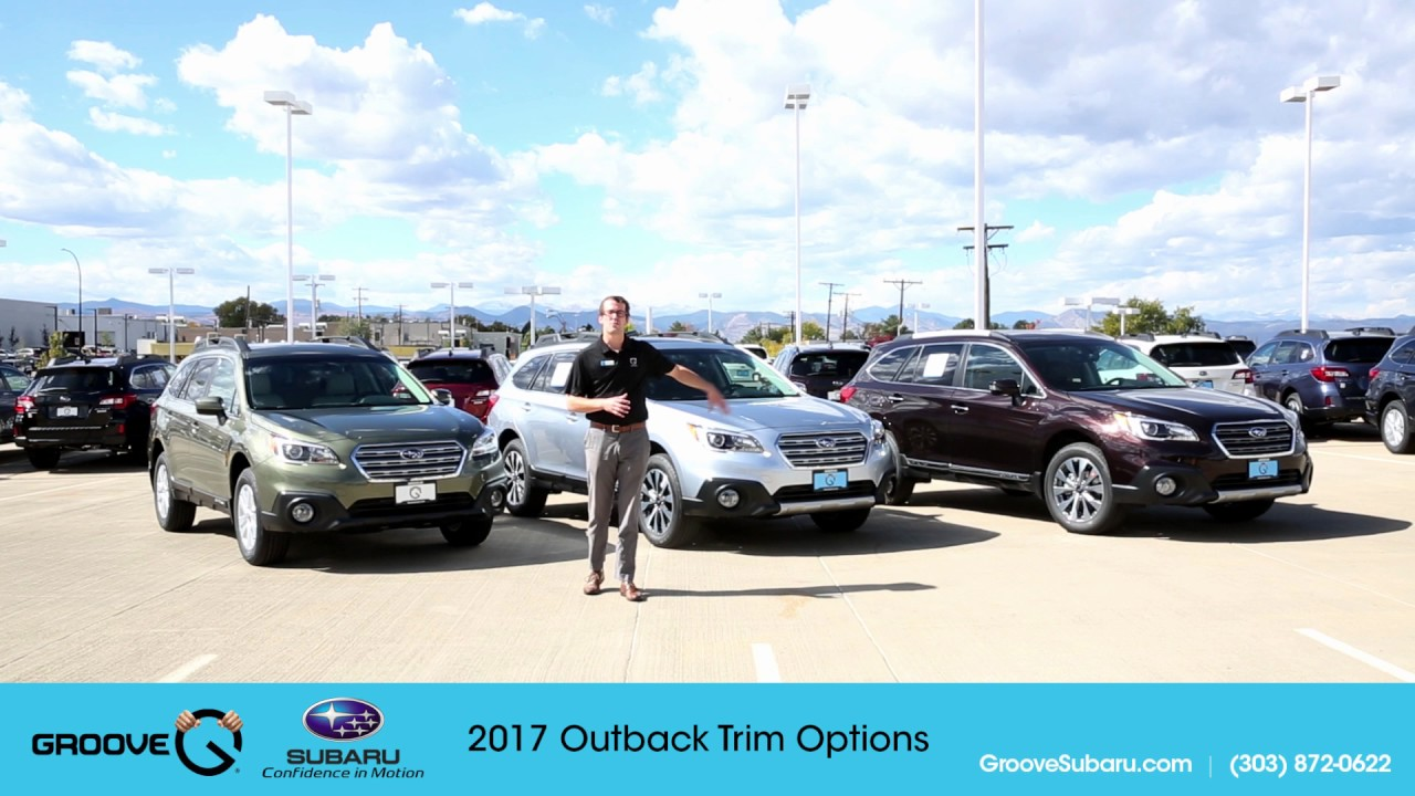 2017 Subaru Outback Trim Levels
