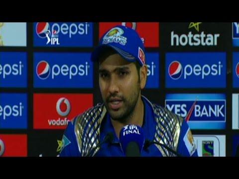 IPL 8 Final: Rohit Sharma on winning the Title – Interview
