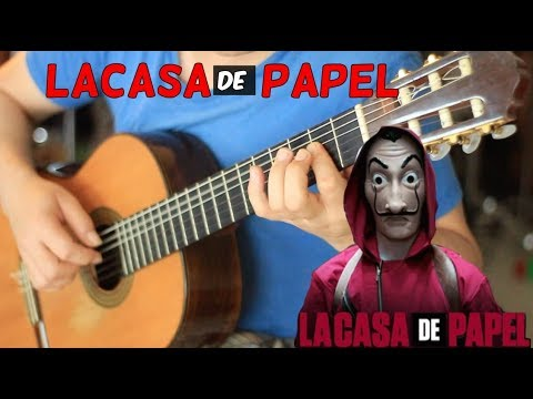 """""""La Casa de Papel Main Theme"""" On Fingerstyle by Fabio Lima (My Life Is Going On) Cecilia Krull"""