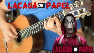 """La Casa de Papel Main Theme"" On Fingerstyle by Fabio Lima (My Life Is Going On) Cecilia Krull"