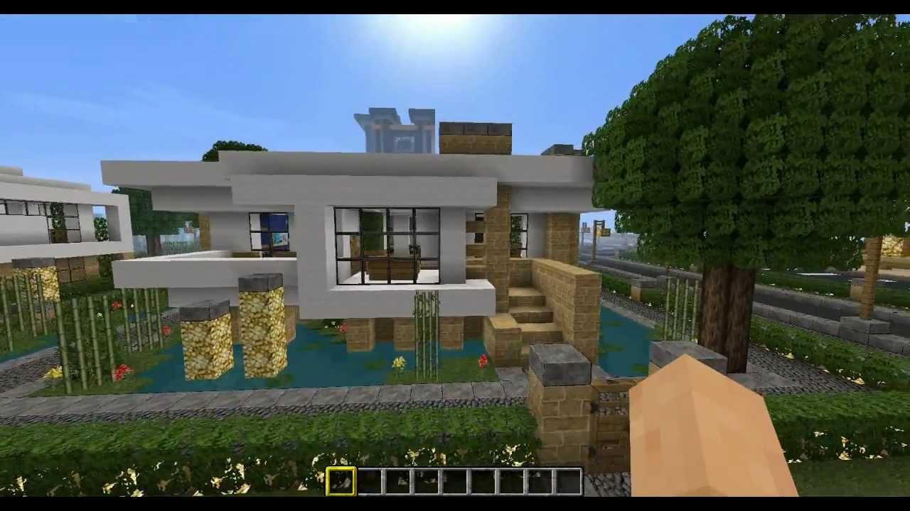 Minecraft Modern City Old House 7 Youtube