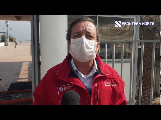 Intendente habla del inicio de restricción vehicular en Arica