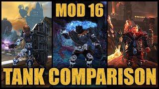 🛡️ Neverwinter Mod 16 Tank Comparison