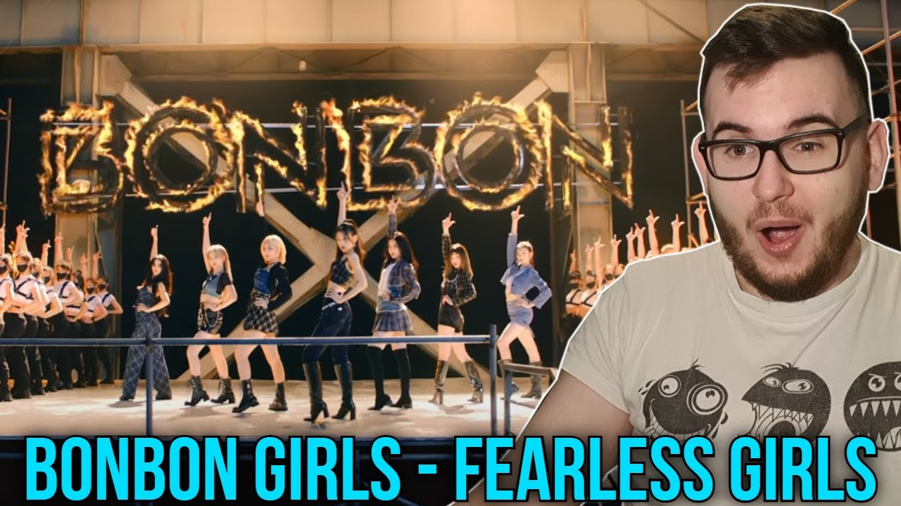 So Proud & Happy! [BONBON GIRLS] 'Fearless Girls' Official Music Video [REACTION]